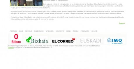 BilbaoBasket Web